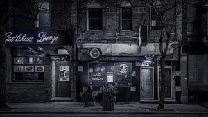 Lounge bar outside